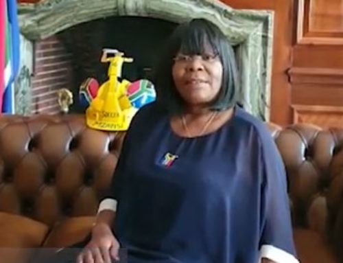 #ListenToOurAmbassadors  A message from HE Nomatemba Tambo, SA High Commissioner to the UK
