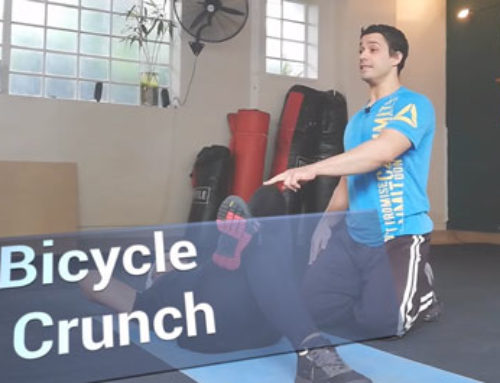 Exercise Technique: Bicycle Crunch