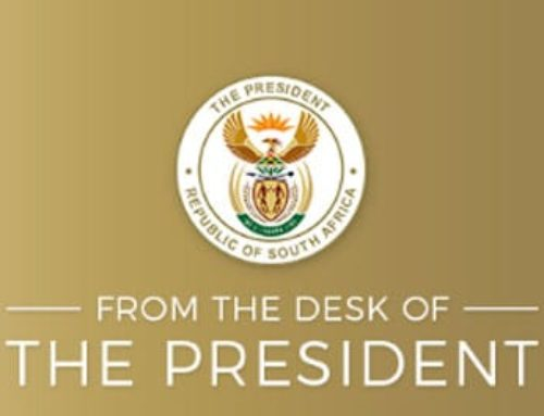 From The Desk of the President – Monday, 13 July 2020