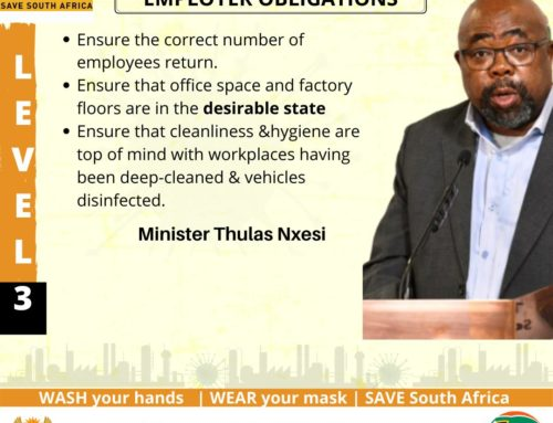 Minister Thulas Nxesi: Economic Cluster Media Briefing on Coronavirus COVID-19 Alert Level 3
