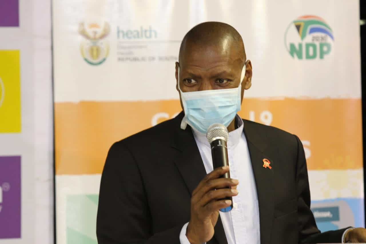 Health Minister Dr Zweli Mkhize receives PPE donations ...
