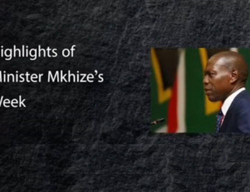 Highlights of Minister Mkhize's Past Week (31st May)