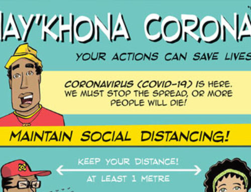 Hay'kona Corona! Social Distancing Printable infographics from the United Nations