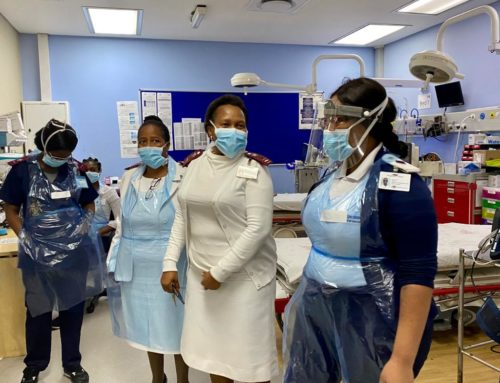 Paying tribute to our #HealthcareHeroes across the country – Nurses from CH Baragwanath