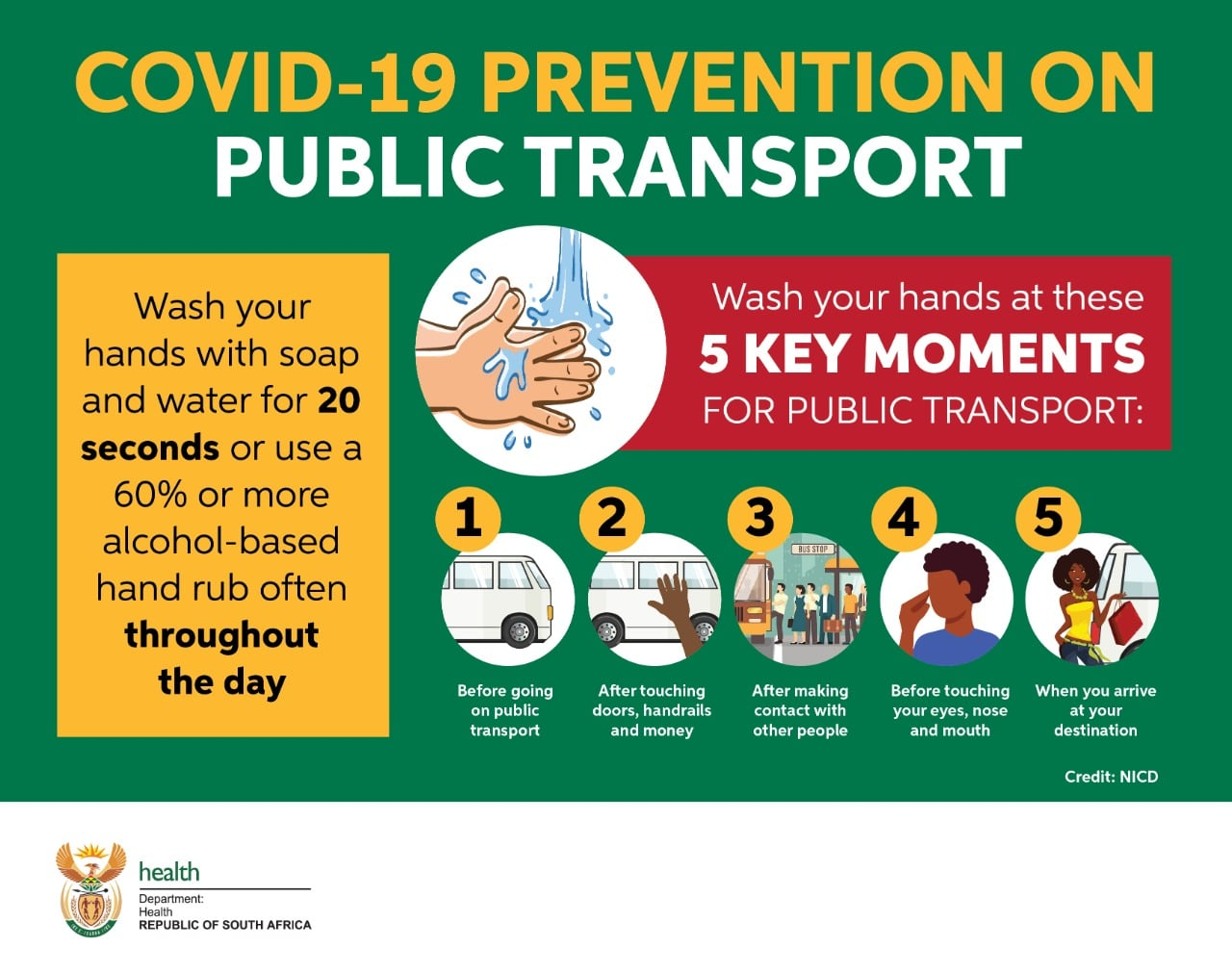 COVID 19 Prevention On Public Transport SA Corona Virus
