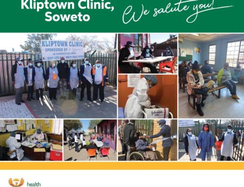 #HealthcareHeroes at Kliptown Clinic making sure their community stays healthy and safe during visits