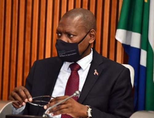 DR ZWELI MKHIZE TESTS POSITIVE FOR COVID-19
