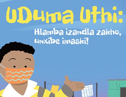 Duma says Wash your hands, wear a mask! (isiXhosa Translation)