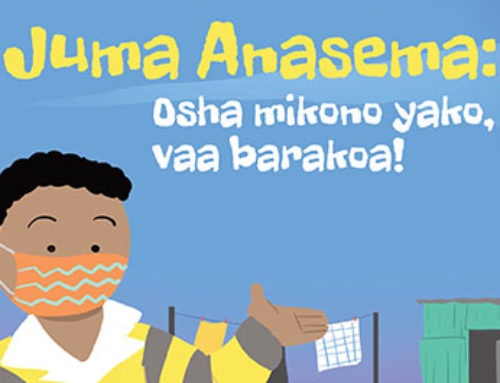 Duma says Wash your hands, wear a mask! (Kiswahili Translation)