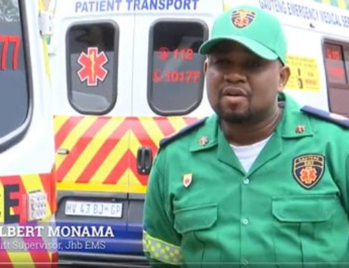 #HealthCareHeroes Albert Monama is the shift supervisor for Gauteng EMS, in Hillbrow, Johannesburg