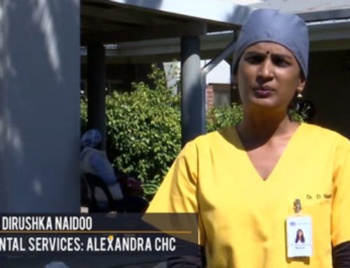 #ListenToTheDoctorEveryone has a role to play says Dr Dirushka Naidoo, dentist at Alex CHC.
