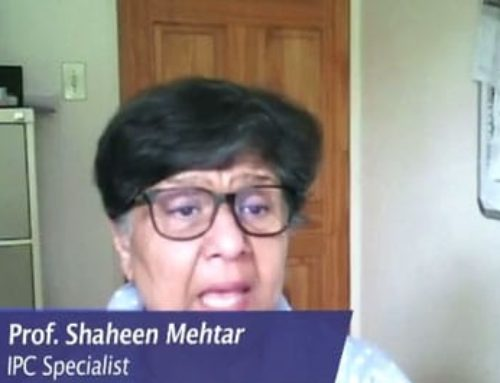 #ListenToTheExperts Good ventilation helps reduce the spread of #Covid19. Prof Shaheen Mehtar explains