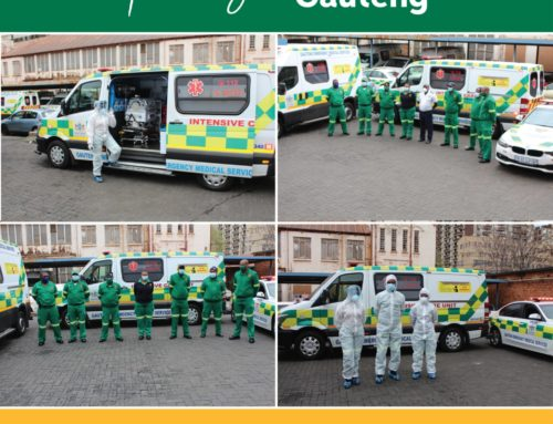#HealthcareHeroes We salute all emergency services healthcare workers, thank you! EMS Gauteng
