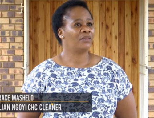 #HealthcareHeroes General worker Grace Mashelo urges everyone to wear masks