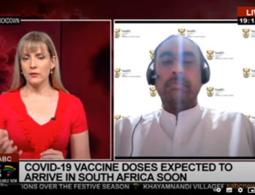 Tracking COVID-19 vaccine arrival to SA with Dr. Anban Pillay