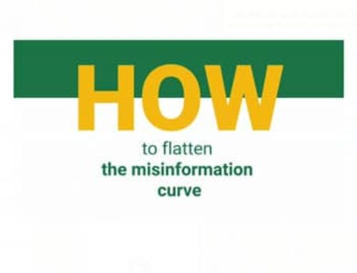 How to flatten the misinformation curve