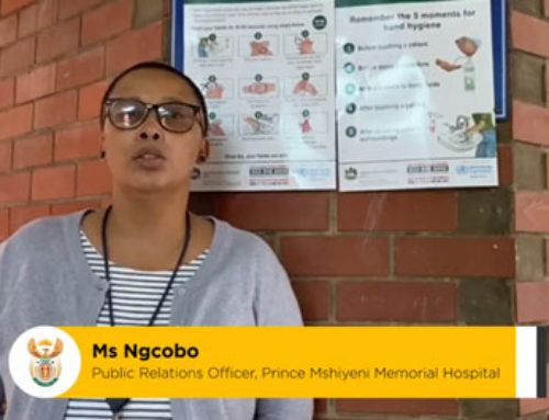 #HealthcareHeroes Public Relations Officer at Prince Mshiyeni Memorial Hospital, Ms Ngcogo