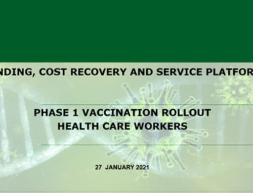 PHASE 1 VACCINATION ROLLOUT  HEALTH CARE WORKERS (presentation)