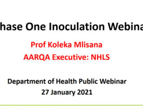Phase One Inoculation Webinar (presentation)