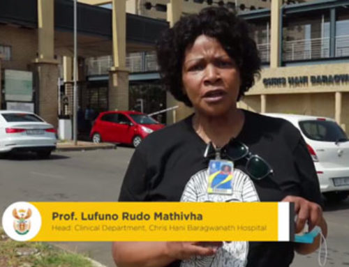 #ListenToTheExperts An important message from Professor Lufuno Rudo Mathivha
