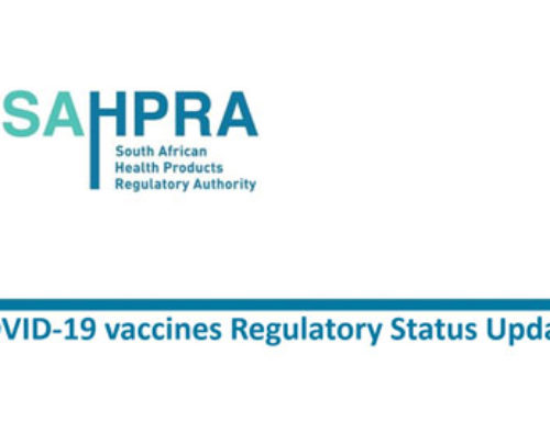 SAHPRA COVID-19 vaccines Regulatory Status Update