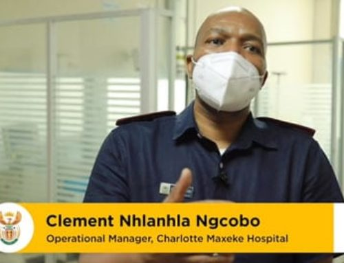 Clement Nhlanhla Ngcobo from Charlotte Maxeke Hospital in Johannesburg tells us why he'll be taking the #Covid19 vaccine