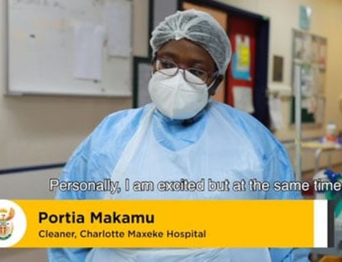 The #Covid19 vaccine is a light at the end of the tunnel, says frontline healthcare worker Portia Makamu from CH Baragwanath Hospital in Johannesburg. #IChooseVacciNation