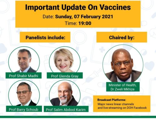 Media Briefing: Important update on vaccines