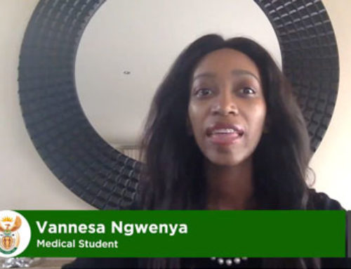 #ListenToTheExperts Medical Student Vanessa Ngwenya in conversation with Professor Jeffrey Mphahlele