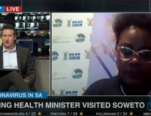 ENCA: Acting Health Minister, Mmamoloko Kubayi-Ngubane speaks to Gareth Edwards about the surge in infections