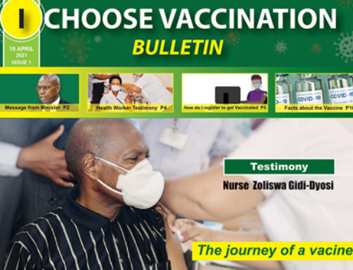 I Choose Vaccination Bulletin (Issue 1)