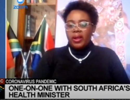 SABC: Acting Minister of Health Mmamoloko Kubayi-Ngubane on the COVID-19 pandemic spread in SA