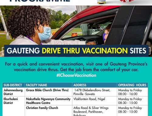 Gauteng Drive-Through Vaccination Sites
