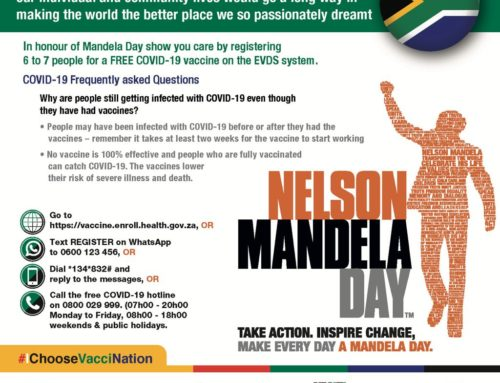 #IChooseVacciNation this Mandela Day